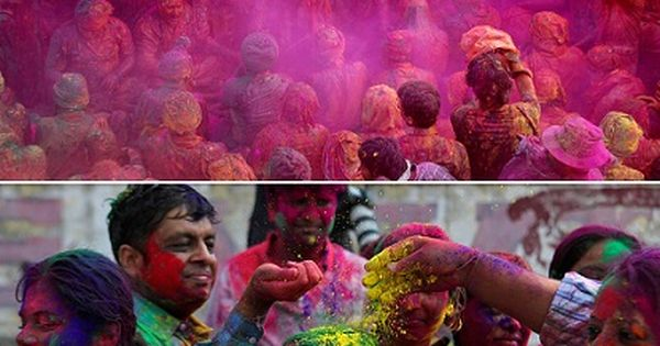 On the bucket list for sure. Celebrate Holi in India. Spring Festival