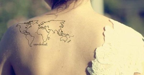 46 Perfectly Lovely Travel tattoo patterns tattoo tattoo design| http://tattoodesignjaylon.blogspot.com
