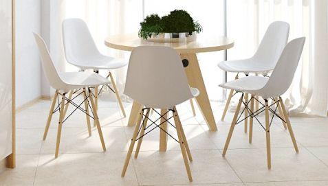 Geneva Chair Plastic Matt Dining Chairs Chaises Eames Decoration Interieure Chaise Fauteuil