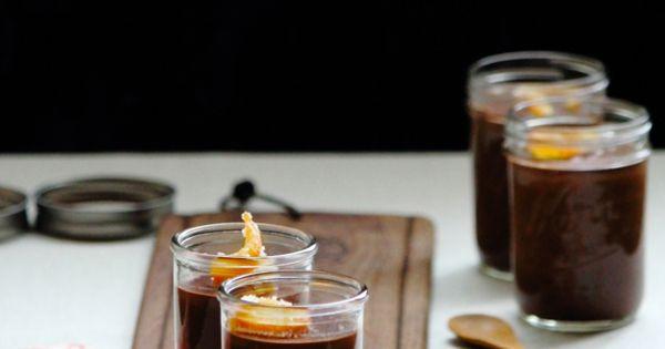 ... dark chocolate orange pudding recipes dishmaps dark chocolate orange