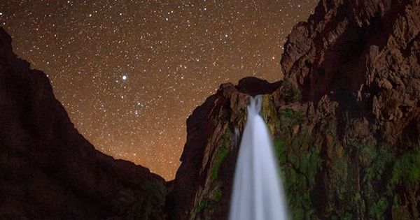 Another reason to visit Arizona's Havasu Canyon: the trillions of stars that