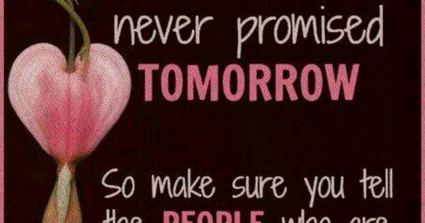 Never Promised Tomorrow