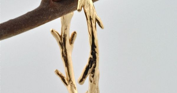 Gold Vermeil Twig Ring by colbyjune on Etsy Love the rings in