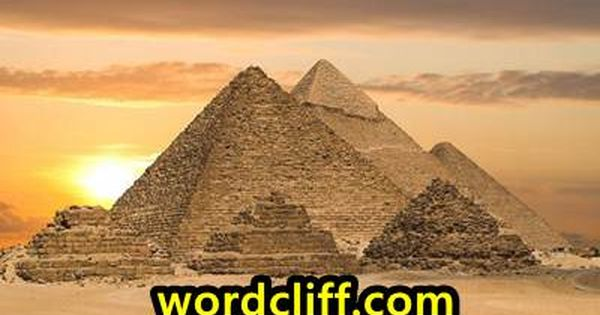 Descriptive Text About The Great Pyramid Of Giza In Egypt Piramid Mesir Giza
