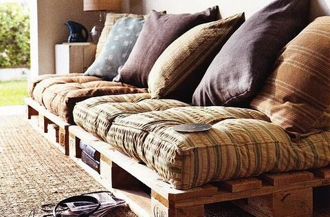 Wood crates ideas Hmmm cool idea for wooden pallets.