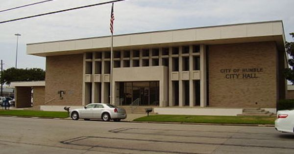 Humble City Hall Outdoor Decor Humble Texas City Hall
