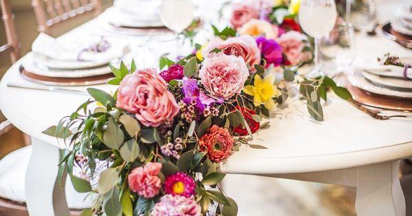 Secret Garden: Flower Garland From A Secret Garden Baby Shower On Kara's