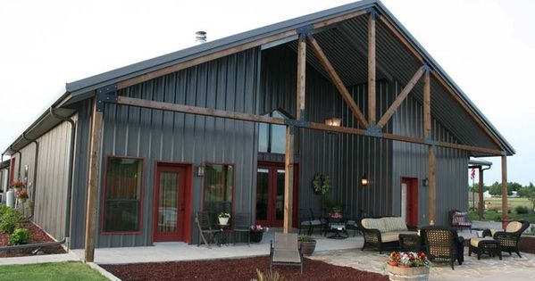 Ideas For Our Barn...Loving The Exterior Living