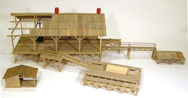 Scale Wood Lumber Lionel Model Trains O Electric Toy You Ho Military Review
