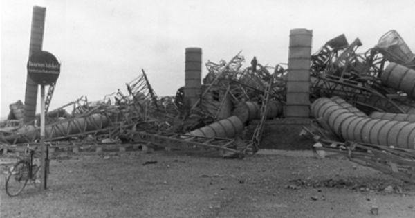 Odinstarnet Efter Bombningen 14 December 1944 Odense Billeder