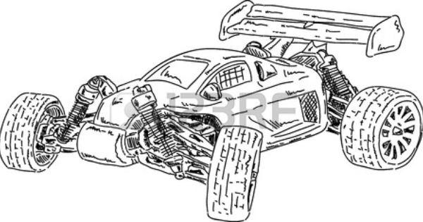 Rc Cars Drawing Google Meklesana Cars Coloring Pages Race Car Coloring Pages Car Drawings
