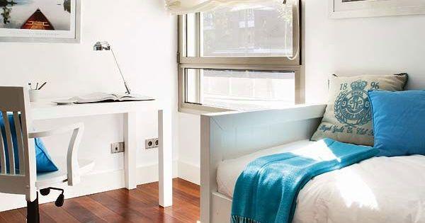 Habitaciones para ni os de estilo n utico decoraci n - Habitaciones de ninos decoracion ...
