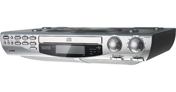 Coby Under Cabinet Cd Player With Am Fm Radio Radios