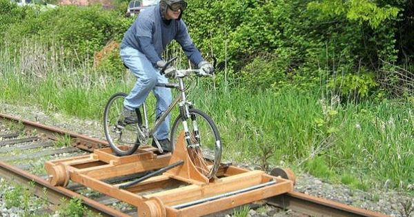 invention railroad track bicycle - photo #8