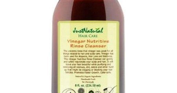 hair grow vinegar nutritive rinse cleanser