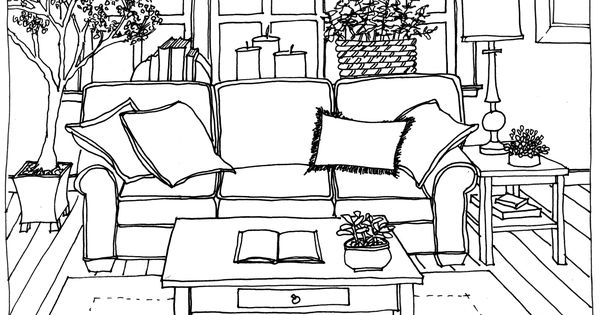 Sofa Drawing | Marker Rendering Sofa And Stairs 2 | Furnitiure | Pinterest  | Markers, Drawings And Perspective