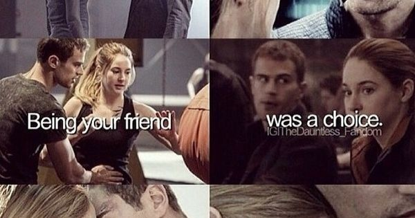 are tobias and tris dating in real life