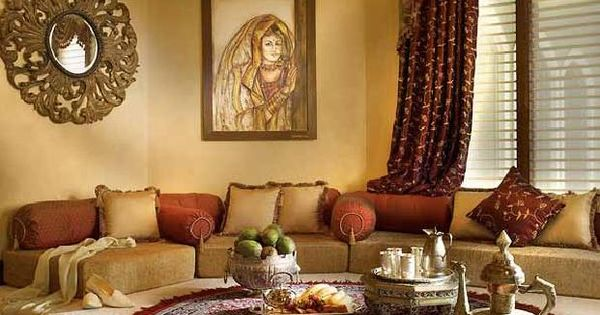 A Moroccan Style Platform Majlis Sitting Room Home Decor Pinterest Sitting Rooms