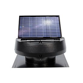 Us Sunlight Solar 9920tr 2 400sq Ft Ventilating Solar Attic Fan Solar Attic Fan Solar Energy Panels Solar Roof