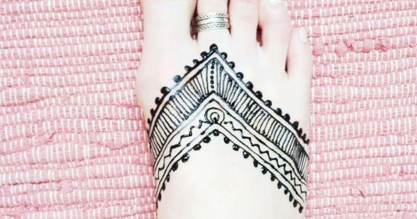 henna tattoo am fu selbermachen ellawayfarer com. Black Bedroom Furniture Sets. Home Design Ideas