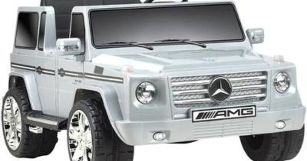 Mercedes benz g55 12v truck gray garage pinterest for Garage mercedes benz versailles