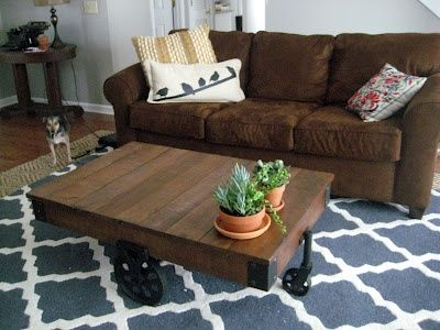Trying To Decorate My Brown Couches With Navy Blue Chevron