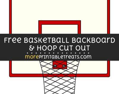Free Basketball Backboard And Hoop Cut Out