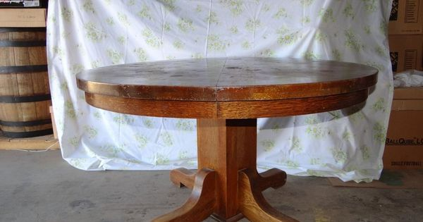 Watertown Table Slide Co Wood 48 Table Pick Up Only Antique Furniture Tables And Wood Table