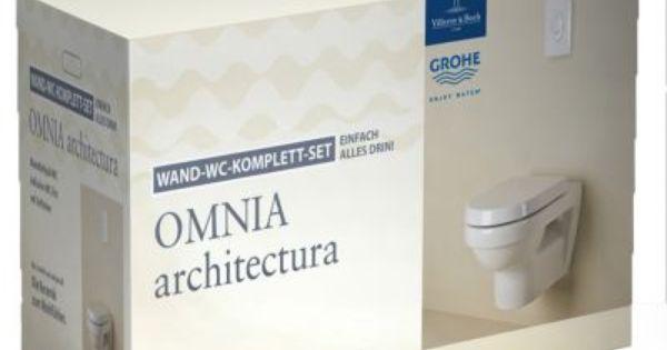 villeroy boch villeroy boch omnia architectura wand wc. Black Bedroom Furniture Sets. Home Design Ideas