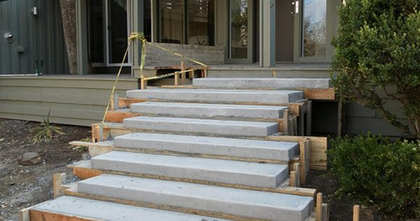 Best Floating Concrete Steps Concrete Steps Outdoor Living 400 x 300