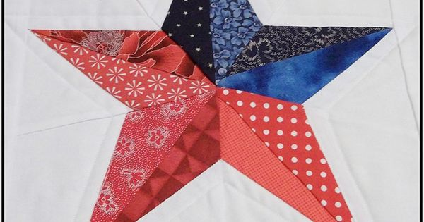 Five Point Texas Star Quilt Pattern