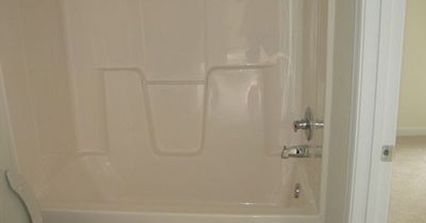 How To Change The Color Of A Fiberglass Tub Shower Enclosure Hunker Fiberglass Shower Stalls Shower Tub Tub Remodel