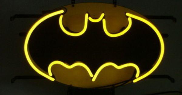 New Batman Superman 3D Acrylic Beer Bar PUB  Real Neon Sign light