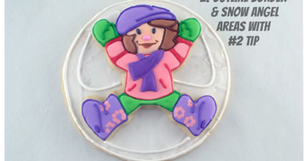 Stacked Snow Angel Cookies   Snow angels, Construction and ...