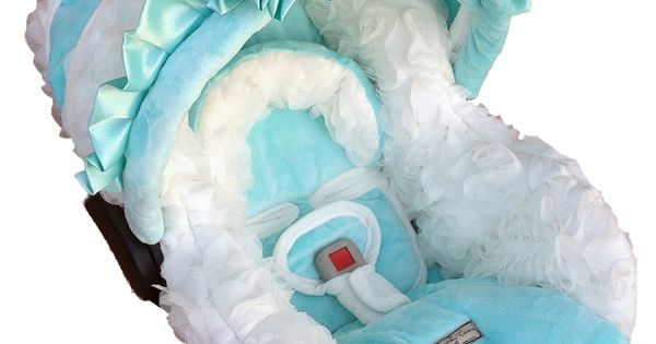 Tiffany blue carseat