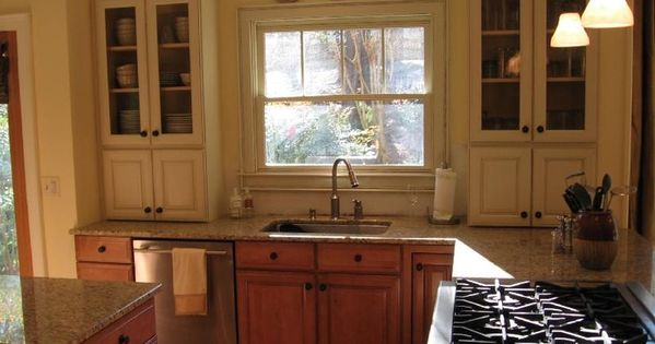 Unforeseen Upper Kitchen Cabinets Mixing Wood And Painted