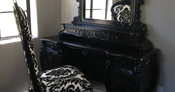 Gothic Victorian Vanity Set Dream Furnature Pinterest