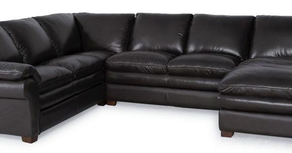 7439 3 Pc Sectional Sofa By Futura Leather Landscape