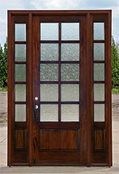 Rain Glass Doors 10 Lite With Sidelights 8 French Doors Exterior Rain Glass Front Door Entry Doors