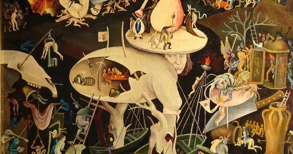L 39 enfer triptyque le jardin des d lices j r me bosch for Bosch jardin des delices