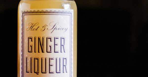 DIY Ginger Liqueur Recipe makes all kinds of drinks better. It goes ...