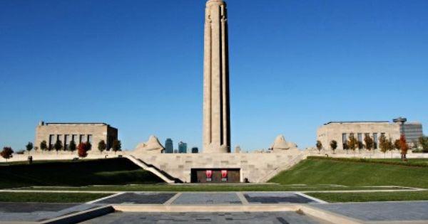 Liberty Memorial Kansas City Skyline Kansas City Kansas