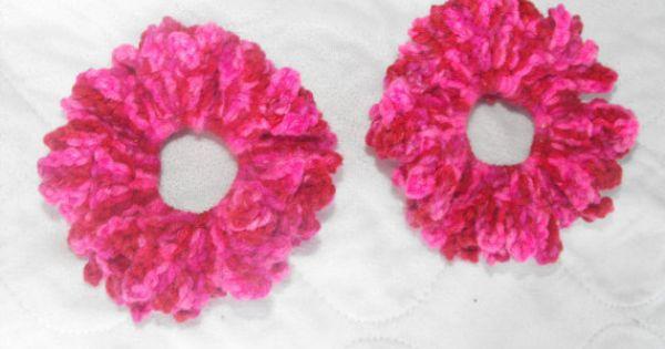 Crochet Hair Materials : ... crochet materials Pinterest Hair scrunchies, Scrunchies and Etsy