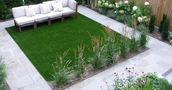 Artificial Grass - 12 Outdoor Flooring Ideas on HGTV Why not with