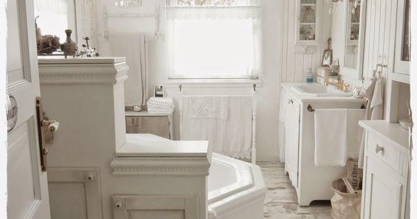 Shabby and Charme: Una favolosa stanza da bagno in stile shabby chic  Beautiful Places & Spaces ...