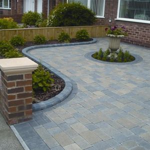 Newcastle Block Paving Company Front Garden Design Patio Pavers
