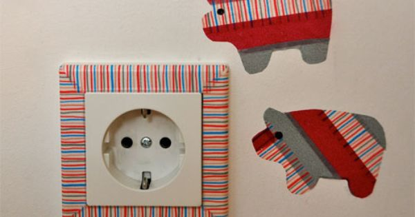 Washi Steckdose Washi Tape Pinterest