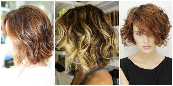 carré plongeant cheveux wavy Cheveux Pinterest