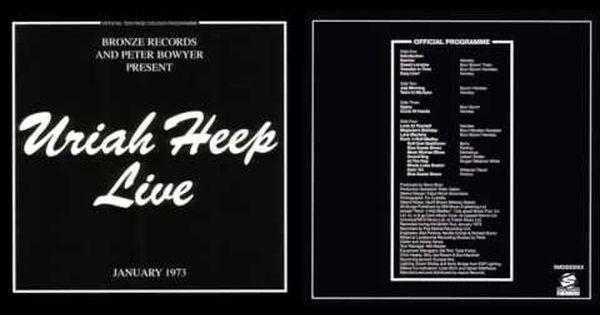 Uriah Heep Live 1973 Full Album Heep Uriah Album
