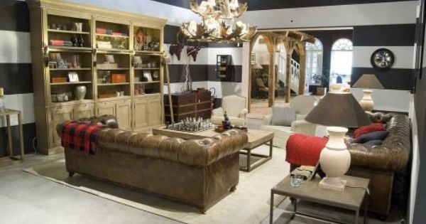Flamant Room View 039 Library Balmore Chandelier Sauvage Usa Furniture Furnishings Modern Furniture Decor